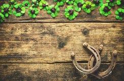 Giorno del ` s di St Patrick, incanti fortunati Fotografie Stock Libere da Diritti