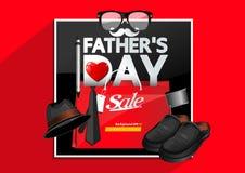 Giorno del `s del padre royalty illustrazione gratis