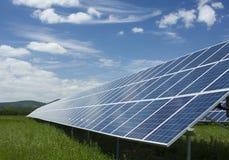 Pannello solare Fotografie Stock Libere da Diritti