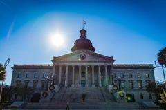 Giorno del sud di Carolina State House Front Exterior Fotografie Stock