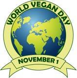 Giorno del vegano del mondo Fotografia Stock Libera da Diritti