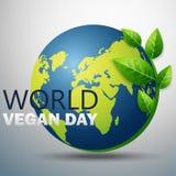 Giorno del vegano del mondo Fotografie Stock