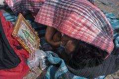 Giorno del vergine di Guadalupe fotografie stock libere da diritti