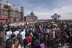 Giorno del vergine di Guadalupe fotografia stock