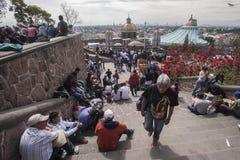 Giorno del vergine di Guadalupe fotografia stock libera da diritti