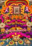 Giorno dell'altare d'offerta morto, casa di Frida Kahlo nel Messico Immagine Stock
