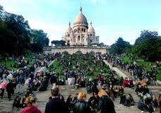 Giorno dell'annata di Monmartre Fotografie Stock