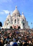Giorno dell'annata di Monmartre Fotografia Stock