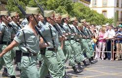 Giorno dell'esercito Fotografie Stock Libere da Diritti
