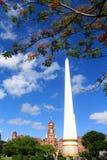 Giorno dell'uccellino azzurro nel parco al parco di bandula di mala di Rangoon Fotografia Stock Libera da Diritti