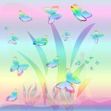 Giorno della farfalla Immagine Stock