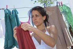 Giorno della lavanderia Immagine Stock Libera da Diritti