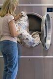 Giorno della lavanderia Fotografia Stock Libera da Diritti