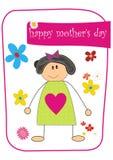 Giorno della madre felice Fotografie Stock Libere da Diritti