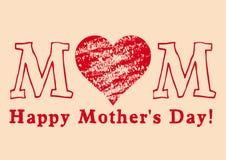 Giorno della madre felice Immagini Stock Libere da Diritti
