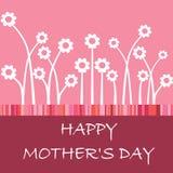 Giorno della madre felice Immagini Stock