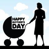 Giorno della madre felice Fotografia Stock