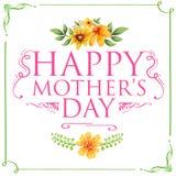 Giorno della madre felice Fotografia Stock Libera da Diritti