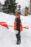 Giorno della neve Immagine Stock