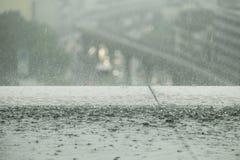 Giorno della pioggia Fotografia Stock Libera da Diritti