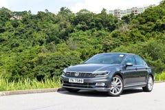 Giorno 2015 della prova su strada della linea r di Volkswagen Passat immagini stock