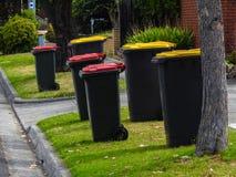 Giorno 1 della raccolta dei rifiuti Immagini Stock Libere da Diritti