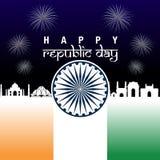 Giorno della Repubblica dell'India Fotografia Stock