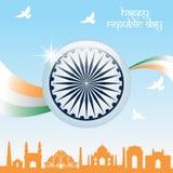 Giorno della Repubblica dell'India Fotografie Stock Libere da Diritti