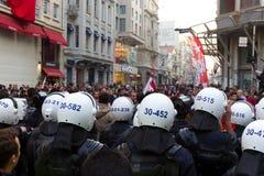 Giorno della Repubblica delle celebrazioni della Turchia Fotografia Stock Libera da Diritti