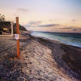 Giorno della spiaggia Fotografia Stock Libera da Diritti