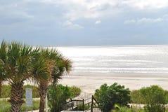 Giorno della spiaggia fotografie stock