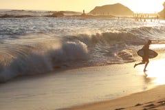 Giorno della spiaggia Fotografie Stock Libere da Diritti