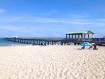 Giorno della spiaggia del Fort Lauderdale Fotografia Stock Libera da Diritti