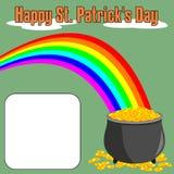 Giorno della st Patrick felice [4] Immagini Stock Libere da Diritti