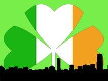 Giorno della st Patricks di Boston Immagine Stock
