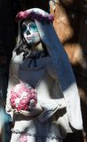Giorno della statua morta Città Vecchia storico Albuquerque, nanometro immagine stock