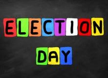 Giorno delle elezioni Fotografia Stock