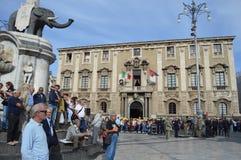 Giorno delle forze armate a Catania Immagine Stock Libera da Diritti
