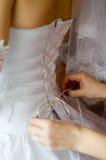 Giorno delle nozze felice Fotografie Stock Libere da Diritti