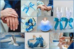 Giorno delle nozze felice Immagini Stock Libere da Diritti