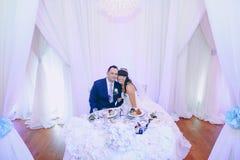 Giorno delle nozze meraviglioso fotografia stock libera da diritti