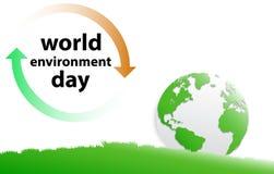 Giorno di ambiente di mondo illustrazione vettoriale
