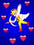 Giorno di amore di angelo Fotografia Stock