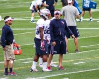 Giorno di apertura al campo di addestramento di New England Patriots Immagine Stock