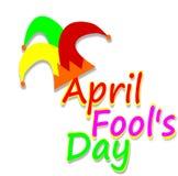 Giorno di April Fools, illustrazione Fotografia Stock Libera da Diritti