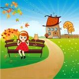 Giorno di autunno Illustrazione Vettoriale