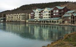 Giorno di autunno in Colorado alla località di soggiorno trapezoidale fotografie stock libere da diritti