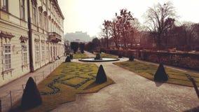Giorno di autunno a Salisburgo fotografia stock libera da diritti