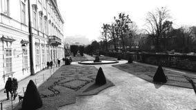 Giorno di autunno a Salisburgo fotografie stock libere da diritti