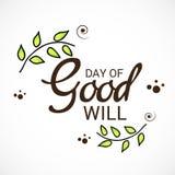 Giorno di benevolenza illustrazione vettoriale